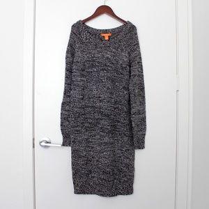 Joe Fresh Gray Knit Sweater Dress